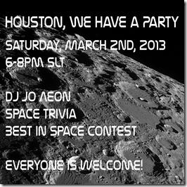 Houston, We Have a Party