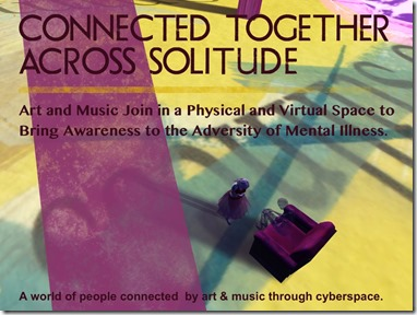 Connected Together Across Solitude Logo