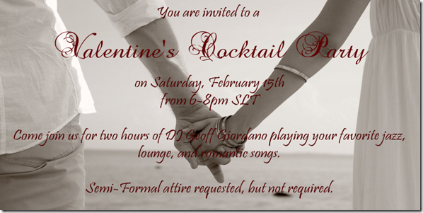Valentine's Cocktail Party